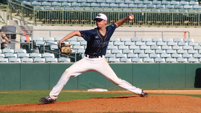 Webster University baseball player Dakota Borman, a Freeport High School graduate, had a successful career at the St. Louis school, and now wants to be a coach.