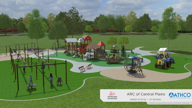 The groundbreaking of the new ARC Park playground will be this Friday.