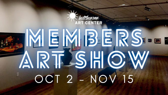 The deadline to submit art entries for the Hutchinson Art Center's Members Art Show is Sept. 20.