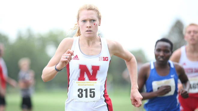 Nebraska's Erika Freyhof finished sixth at the Big Ten Cross Country Championships.