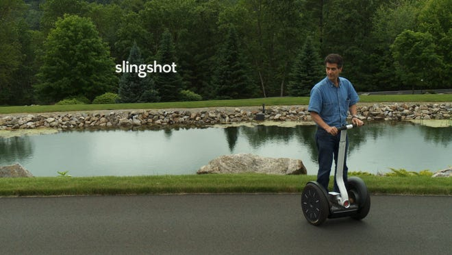 """SlingShot"" tells the story of Segway inventor Dean Kamen's water purification efforts."