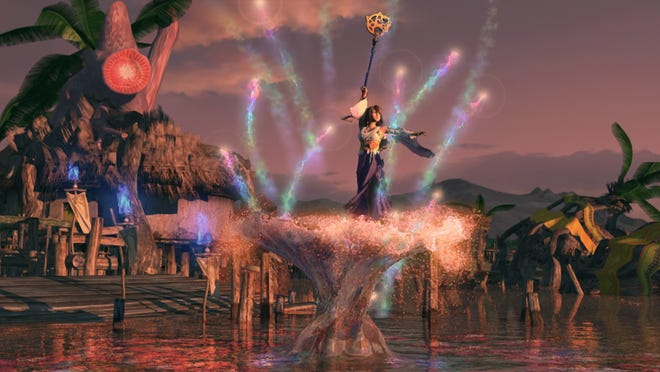 "Cinematics are just as beautiful on PlayStation 3 as they were on the PlayStation 2 version of ""Final Fantasy X."""