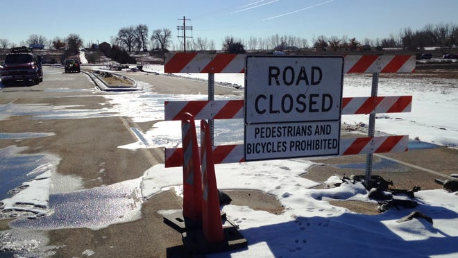 Larimer County Road 30 is closed at its intersection with County roads 11 and 11C for the installation of twin roundabouts. The closure is one of three on major streets in south Fort Collins because of unrelated construction projects.