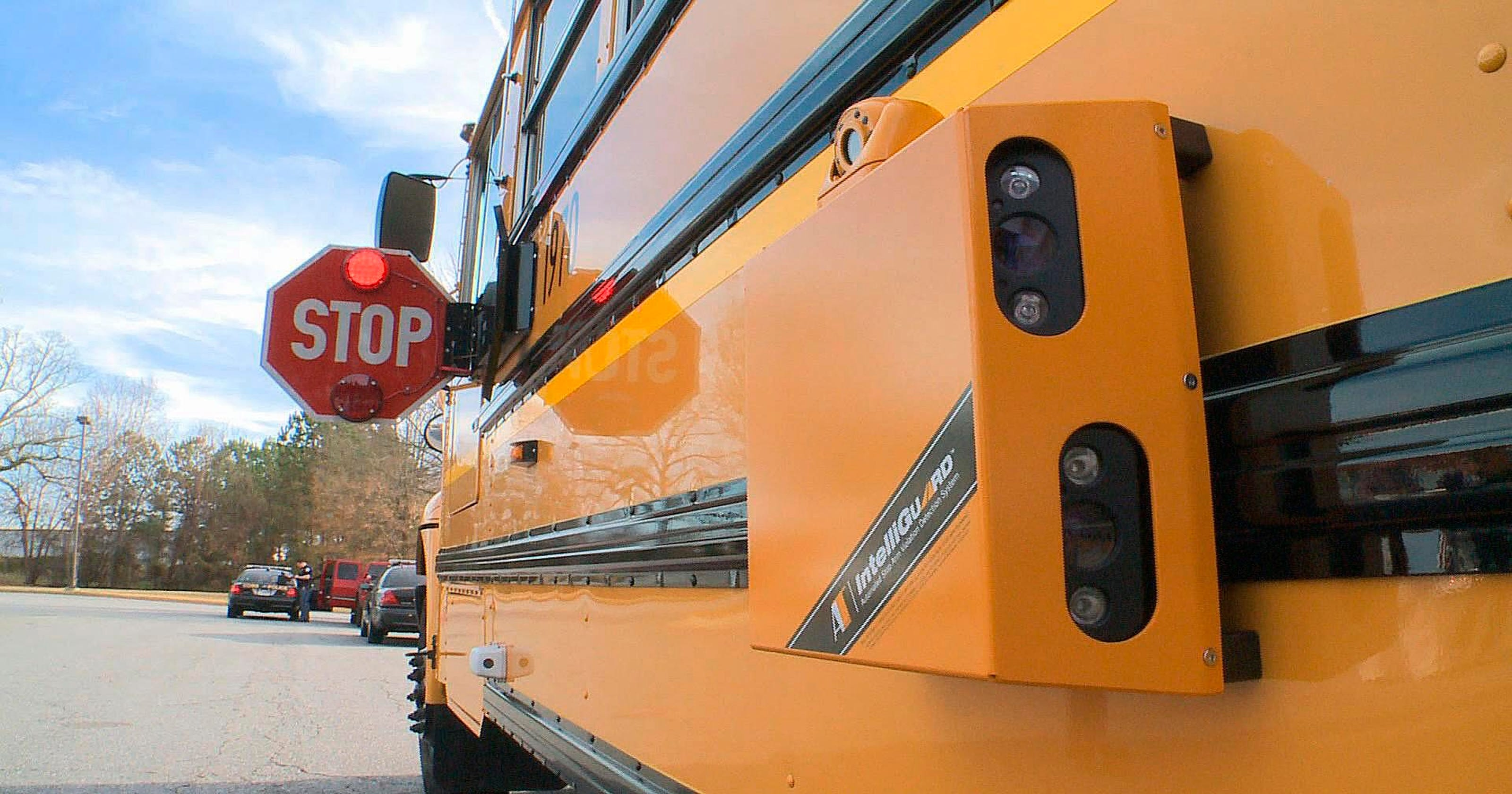 School bus cameras can be used to write tickets