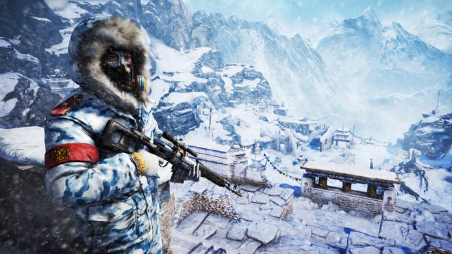 """This photo provided by Ubisoft shows a scene from the video game, """"Far Cry 4."""""""
