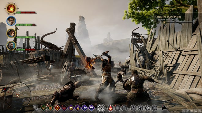 "A scene from the video game ""Dragon Age: Inquisition."""