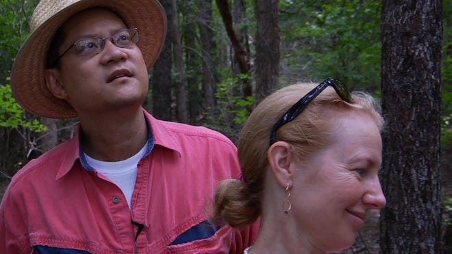 """A scene from """"A Will for the Woods,"""" to be shown at Upstate Films in Rhinebeck Sunday."""