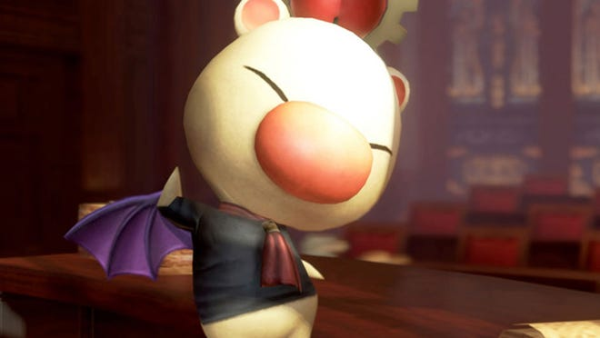 "He ain't Good King Mog, but this nosey moogle's got the lowdown on all sorts of info in ""Final Fantasy Type-0: HD."""