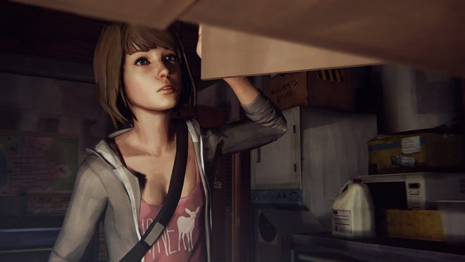 "Live the strange life of student Max Caulfied in the aptly titled game ""Life is Strange."""