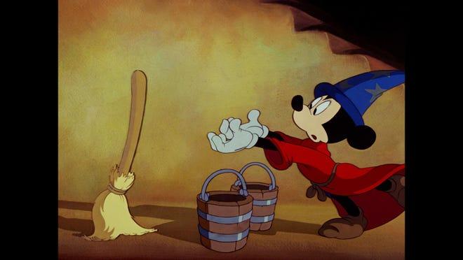 """A film still from Disney's """"Fantasia."""""""