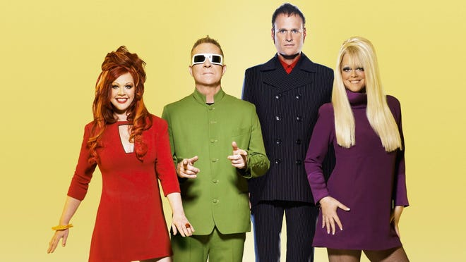 The B-52s hit The Capitol Theatre stage on Jan. 31.