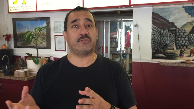 Al Gomez, a Peruvian restaurant employee in Cheswold, believe President Obama and Congress need to reform the nation's immigration laws, but opposes blanket amnesty.