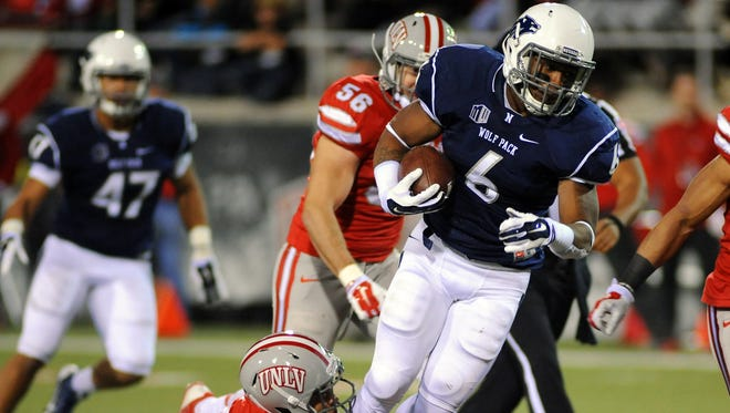 Wolf Pack running back Don Jackson is one of seven returning starters on offense.