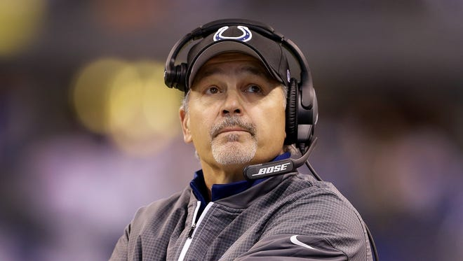The Colts are 49-31 under Chuck Pagano since he took over in 2012.
