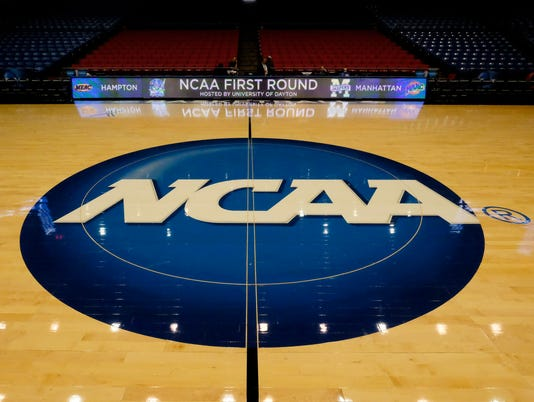 NCAA Basketball: NCAA Tournament-First Round-Hampton vs Manhattan