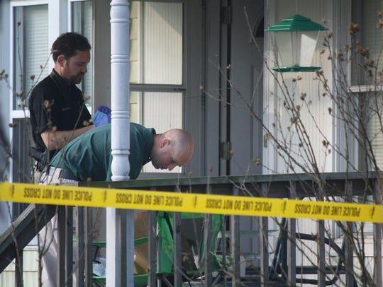 Homicide investigation at at Elsmere home on Friday