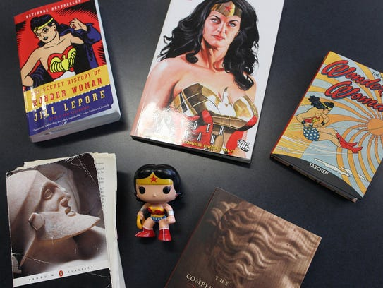 "Course readings for Anna Barker's ""Wonder Woman Unleashed:"