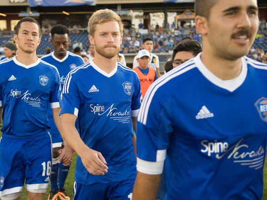 Reno 1868 FC midfielder Chris Wehan was named the United