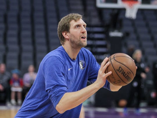 4. Dirk Nowitzki / Team Option / Power Forward / 7-0