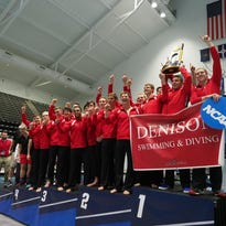 Denison men's swimming wins Division III national title