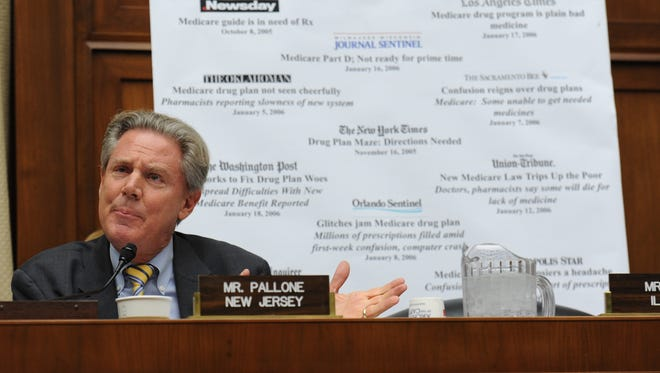 Rep. Frank Pallone of New Jersey wants sports betting to be legal in states that want it.