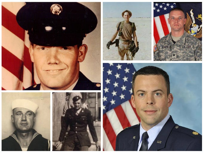 NewsChannel 5 viewers shared photos of the heroes in their lives on Facebook.