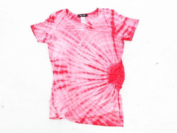 Tie-dye shirt from Steinmart. $24.99. July 10, 2014