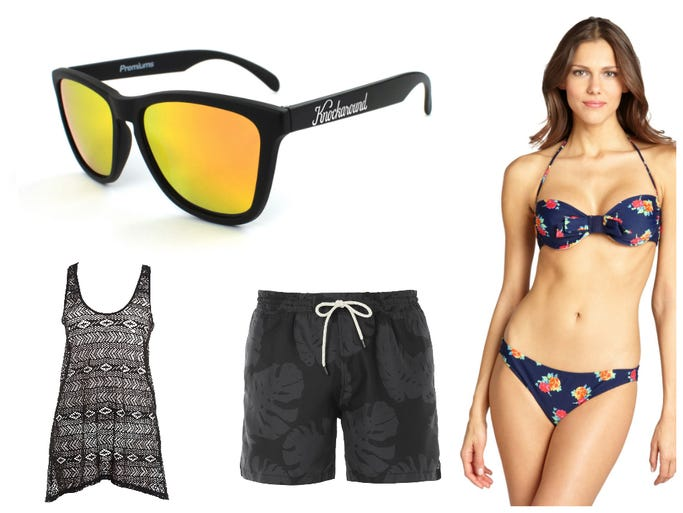 There's still plenty of summer sun left to spend bumming at the beach, so it's time to take stock of your sand-and-surf necessities. USA TODAY's Haley Blum shows you how to soak up the season's best styles.