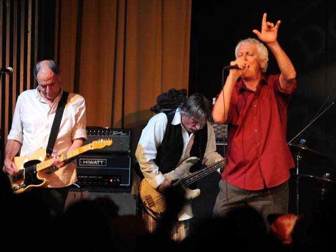 """A packed house saw Guided By Voices Thursday night at the Milton Theatre. The band was celebrating the release of Dogfish Head's Beer Thousand, named for the band's album """"Bee Thousand."""""""