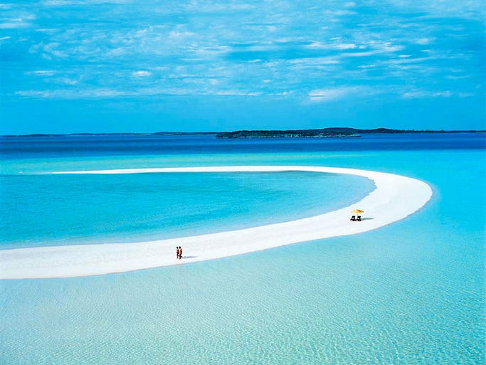 Travelore report monthly in print since 1971 10 best caribbean musha cay bahamas with over 500 acres and 25 sugary white sand beaches trimmed by tropical fauna the sciox Image collections