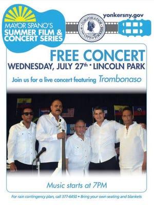 The Latin jazz group Trombonaso