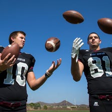 Mark Andrews and Kyle Allen recently shined on Arizona high school football fields, but now take their games to a whole new level. Where are they now? azcentral sports takes a look at them and the 213 other former Arizona high school football players on Football Bowl Subdivision (FBS) rosters for the 2014 college football season.