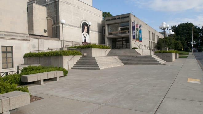 The Lancaster Street entrance to the Worcester Art Museum will be made fully accessible.