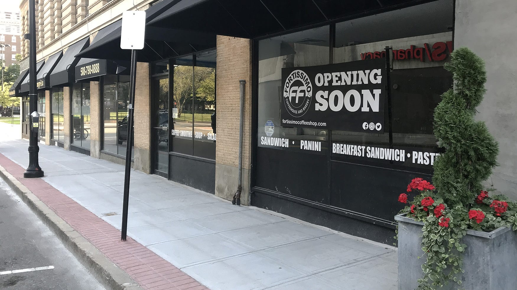 New Coffee Shop Opening In Downtown