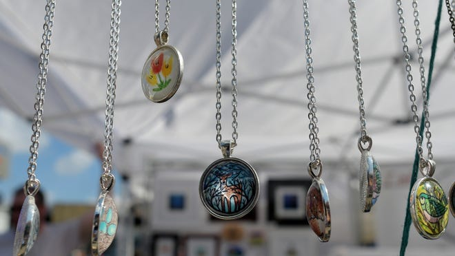 Jewelry is expected to be on display at craft booths for Heritage Day.