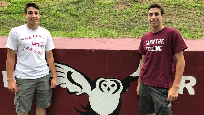 Park Ridge twins Cole, left, and Dylan Triano enter their senior baseball season with motivation to make another postseason push.