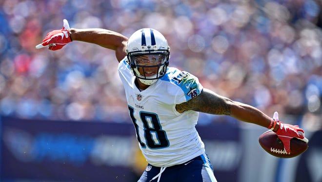 Titans wide receiver Rishard Matthews