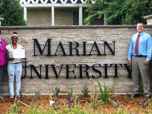 Marian Univ BGClub scholar