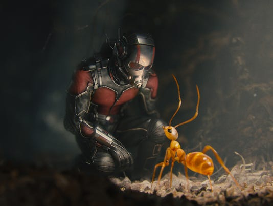 Ant-Man and ants