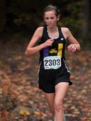 Unioto's Kela Harkins, girls runner of the year.
