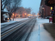 Snow falls on Berlin, Maryland. A light snow is possible