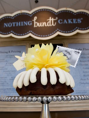 Customers have a variety of cakes and toppings from which to choose. Nothing Bundt Cakes is opening its first Tallahassee location June 5.