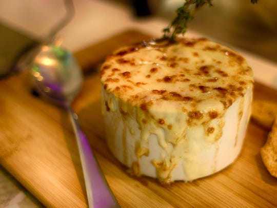 French onion soup is a savory classic at Blanc.