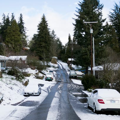 Valley View Avenue NW in West Salem on Monday, March