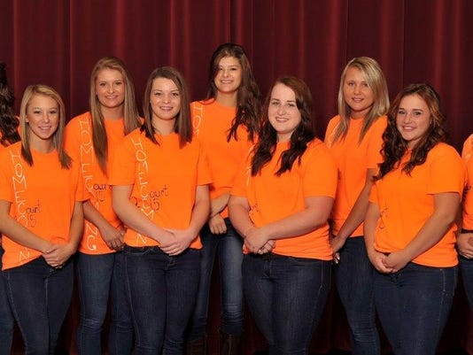 Galion Homecoming Court