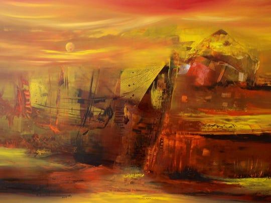 """""""Serie Elementos — Fuego"""" by Veronica Leiton."""
