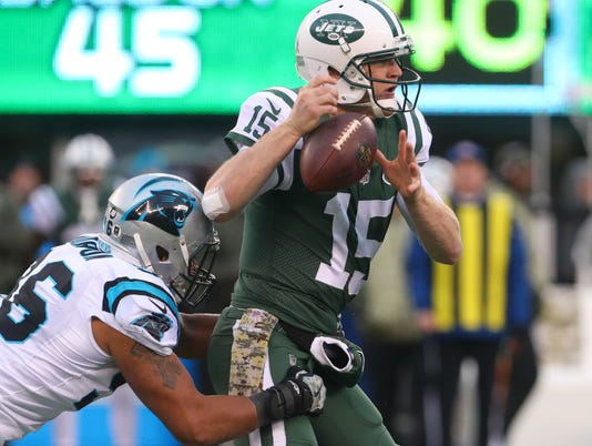 NFL: Carolina Panthers at New York Jets