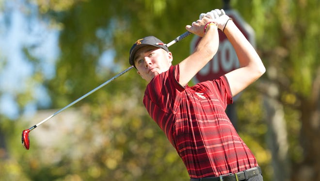 Westlake's Sean Crocker, a junior golfer at USC, is one of 16 top amateur players taking part in a Walker Cup tryout this week in Los Angeles.