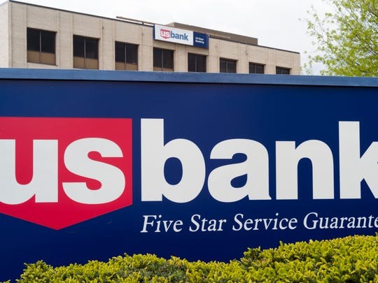 This May 3, 2017, file photo shows a U.S. Bank branch in Omaha.