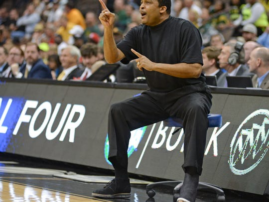 Georgia State head coach Ron Hunter.